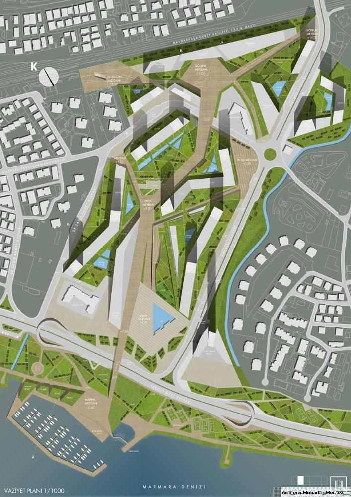 Maltepe - Dragos Sanayi Alanları Davetli Mimari Proje Yarışması Tago Mimarlık
