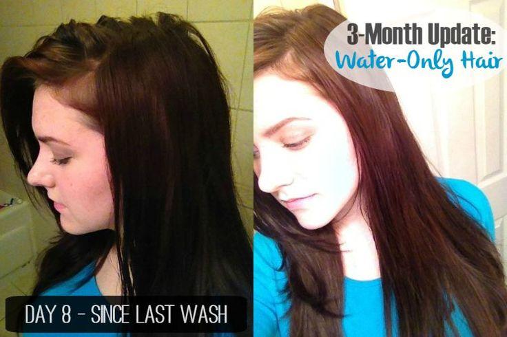 L'ultimo acqua Solo il lavaggio dei capelli di routine - [senza shampoo!] | Le cose Primal