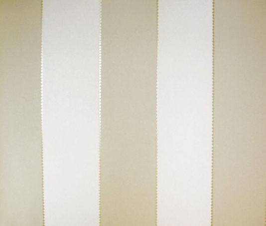 Elisa Stripe Wallpaper Taupe And Cream Wide Stripe Wallpaper With