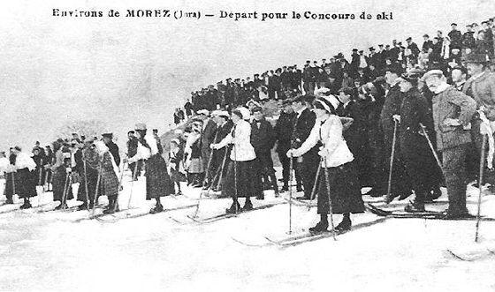 Ski Jura 1900