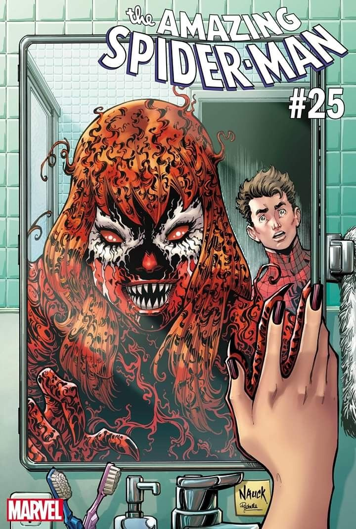 Marvel Comics THE AMAZING SPIDER-MAN #25 first printing Carnage-ized variant