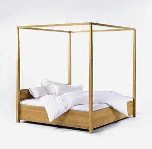 Four poster trent could build diy bed frame pinterest for Diy poster bed