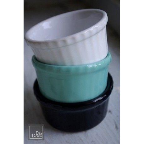Ceramiczna Kokilka do pieczenia, średnica 8 (cm)