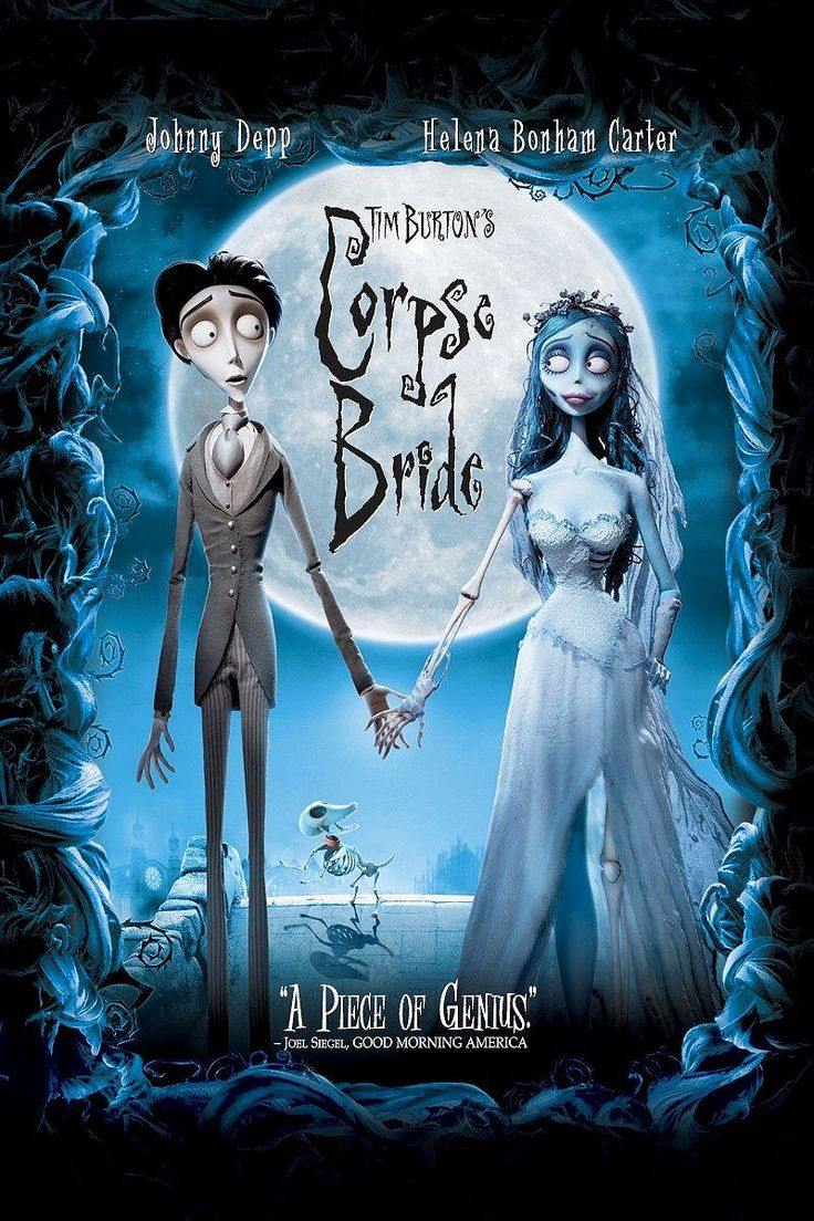 As can be expected from a Tim Burton movie, Corpse Bride is whimsically macabre, visually imaginative, and emotionally bittersweet.