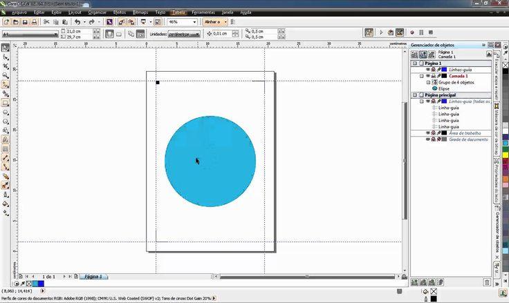 Criando marcas de registro com macro - CorelDRAW X6 + Silhouette Studio V3