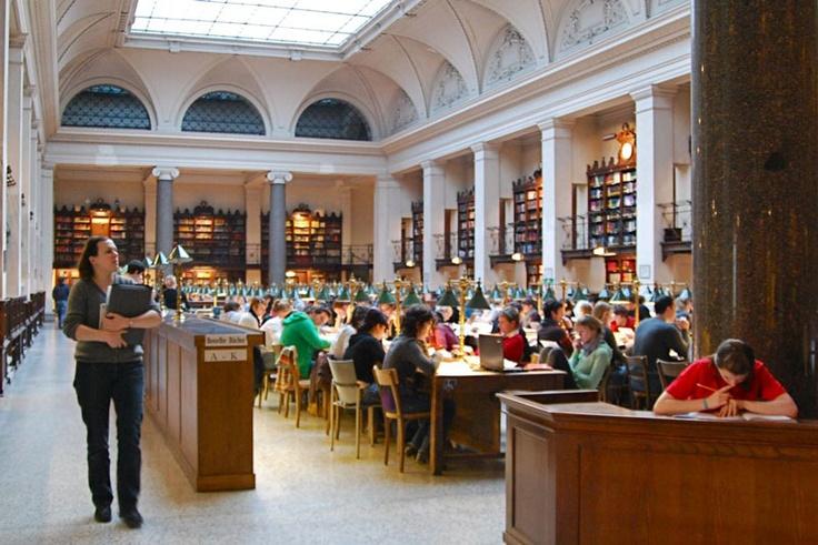 Uni Wien Lesesaal