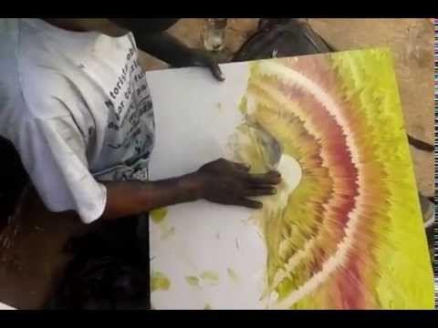 Úžasné obrazy vytvořené za 9 minut dlaněmi pouličního malíře! :) #pilotpen #wonderful #art