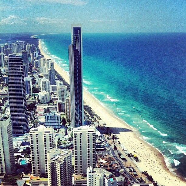 Surfers Paradise #Queensland #Australia    Photo by seeaustralia .... umm someone take me there please