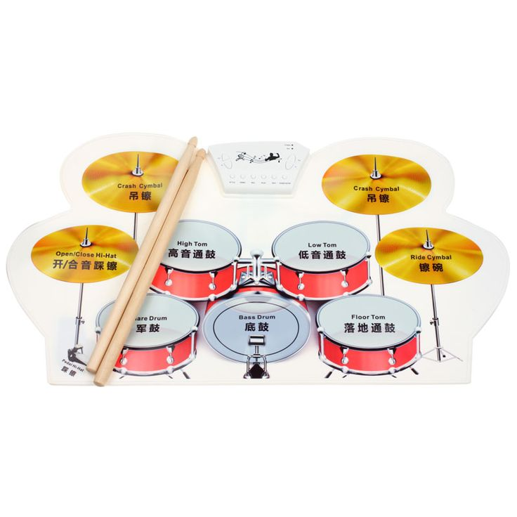 ==> [Free Shipping] Buy Best Top Selling! High Quality Silicone Portable Digital USB Midi Roll-up Electronic Drum Set Pad Kit with Stick and Foot Pedal Jan5 Online with LOWEST Price | 32789631571