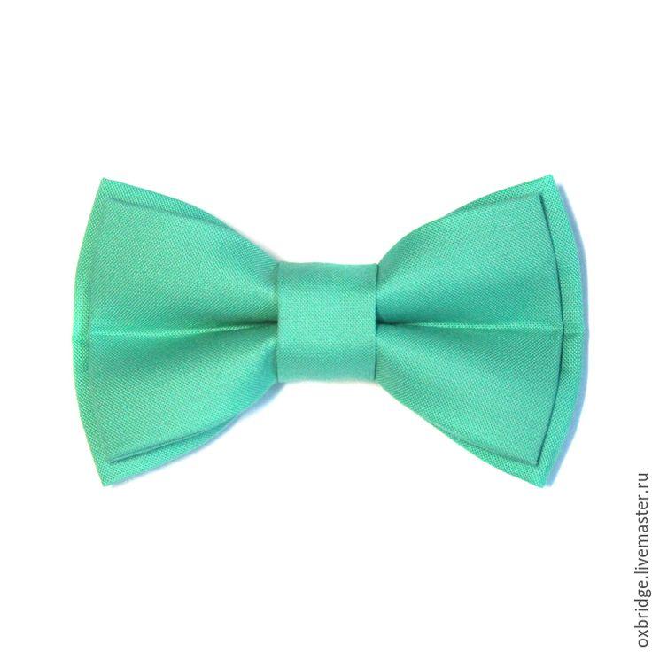 Купить Галстук бабочка мятного цвета / Бабочка галстук / Бабочка мятная