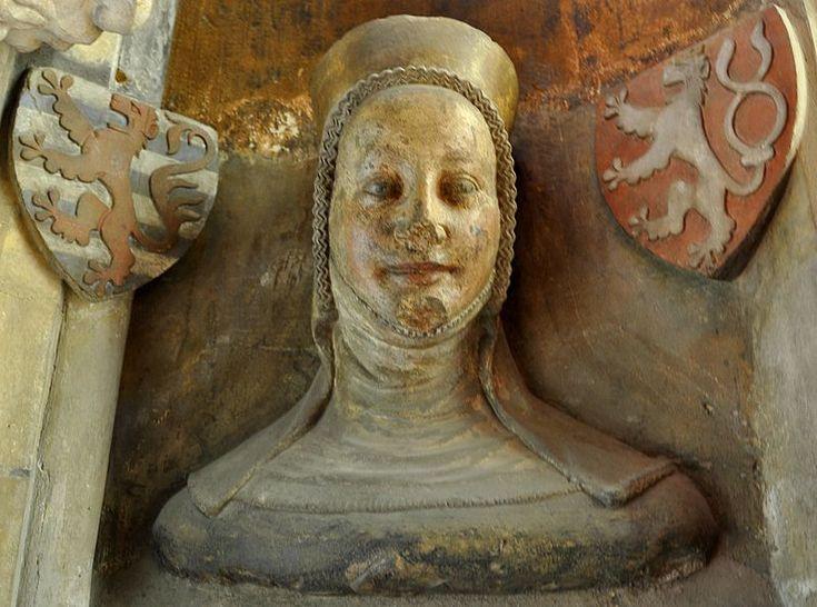 Eliška Přemyslovna, dcera krále Václava II. a manželka lucemburského hraběte a českého krále Jana Lucemburského
