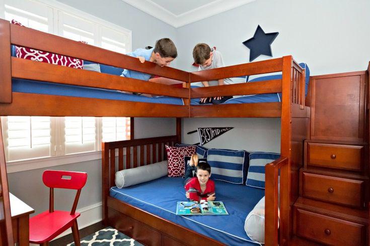 Best 18 Best Triple Quad Bunk Loft Beds For Kids Images On 400 x 300