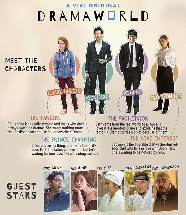 Meet the stars of #Dramaworld!