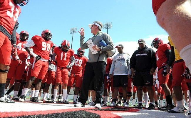 College Football Polls Like Cajuns In Sun Belt Race