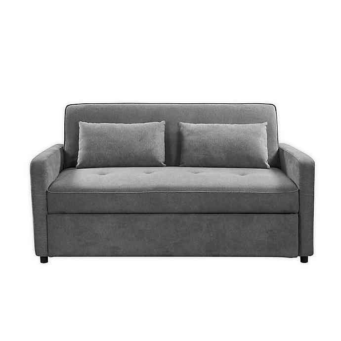Lifestyle Solutions Serta Filmore Convertible Queen Sofa Bed In