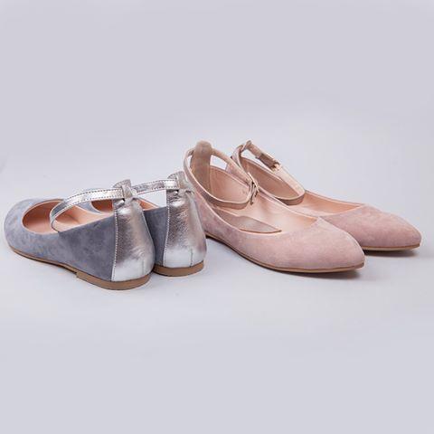 Балетки в универсальных оттенках прибавят вам лёгкости, а вашему образу - романтичности. Блестящие акценты не позволят остаться незамеченными☝  #AlexBell #shoes #авторская_обувь #красивые_балетки