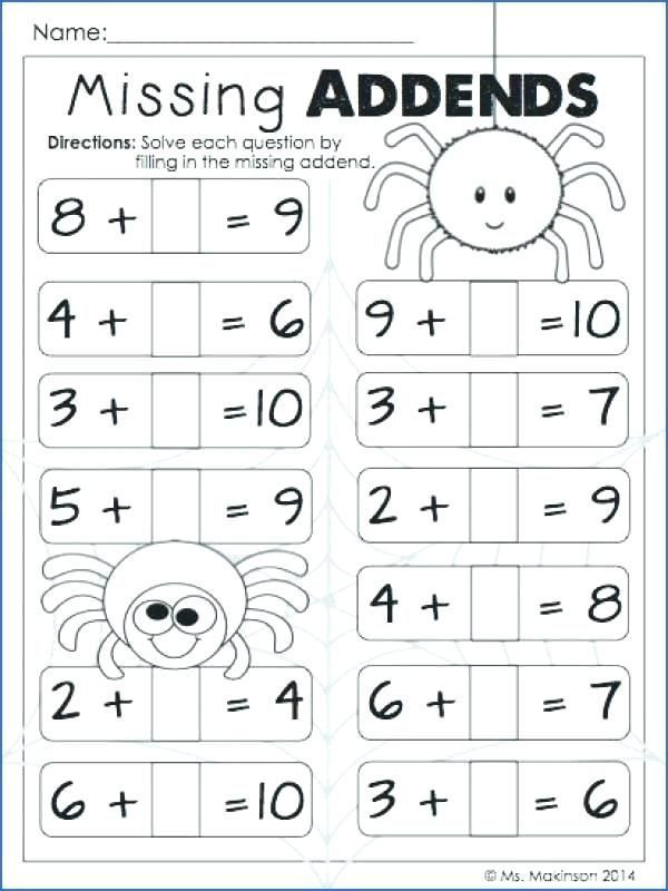 30 Mathematics Worksheets For Grade 1 With Images 1st Grade