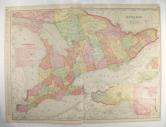 The Best Ontario Map Ideas On Pinterest Huntsville Canada - Map ontario canada