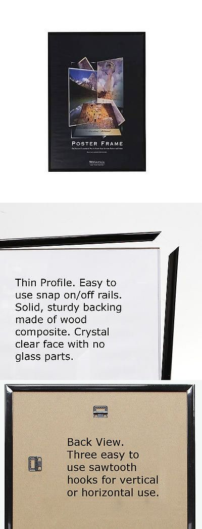 Home Decor: 27 X 40 Poster Frame With Black Edge Quantity Value Packs 27X40 -> BUY IT NOW ONLY: $33.14 on eBay!