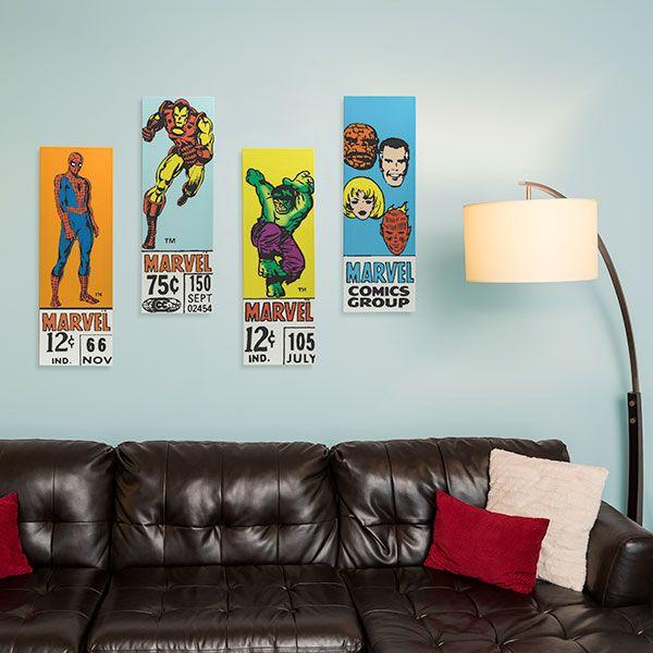 Classic Marvel Comics Corner-Box Art Additional Image