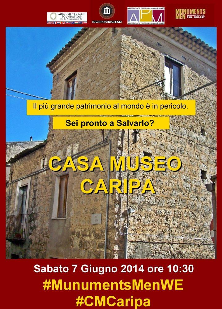 Casa Museo Caripa - Valguarnera Caropepe, Sicilia #MonumentsMenWe #CMCaripa #piccolimusei #invasionidigitali