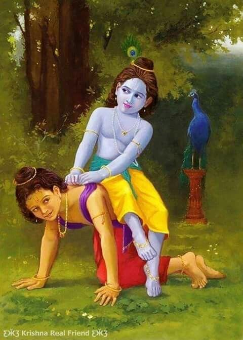 कृष्ण और सुदामा का प्रेम बहुत गहरा था। प्रेम भी इतना कि कृष्ण, सुदामा को रात दिन अपने साथ ही रखते थे। कोई भी काम होता, दोनों साथ-साथ ही करते। दोस्तों जँहा मित्रता हो वँहा संदेह हो, आओ कुछ ऐसे रिश्ते रचे...