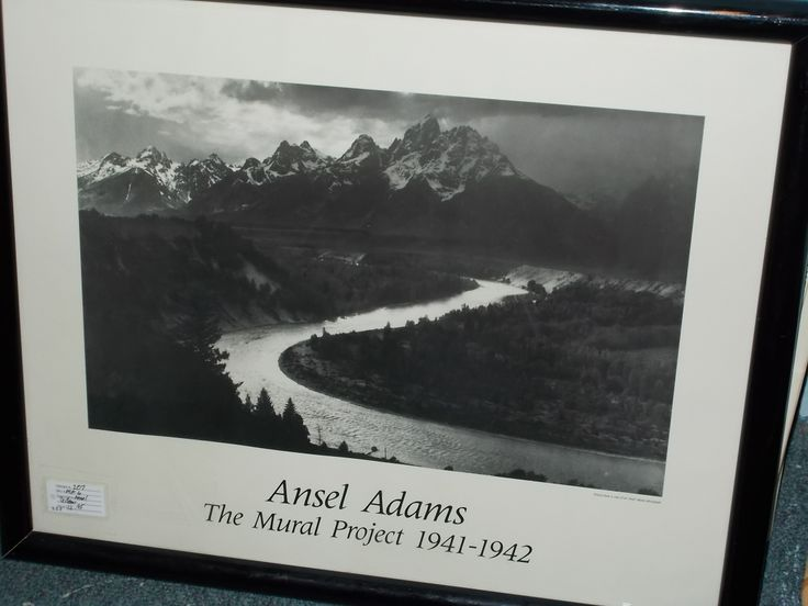 684 best images about scoutn for dealers with merchandise for Ansel adams mural