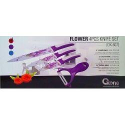 OX-607 4Pcs Flower Knife Set Oxone