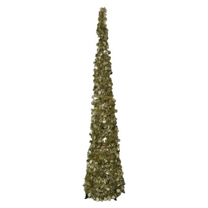 5 Unlit Pop Up Tree Gold Find Artificial Flowers And