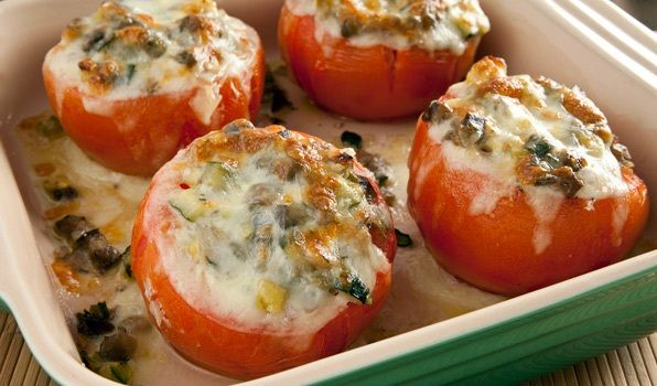 Lidia's Italy - Stuffed Tomatoes                                                                                                                                                                                 More