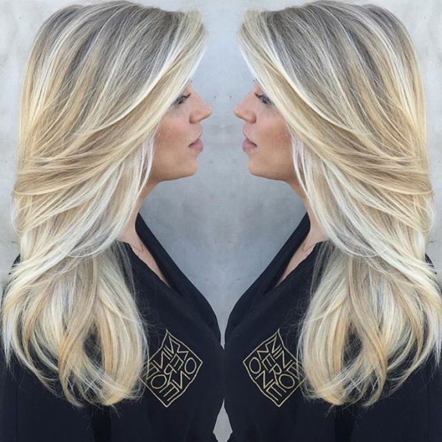 Ice, Ice, Baby ❄️ Beautiful blonde by @_marissamarino! #ninezeroone