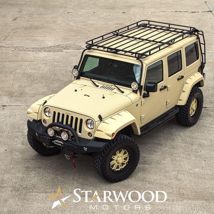 Sahara Tan Kevlar Custom Jeep Wrangler