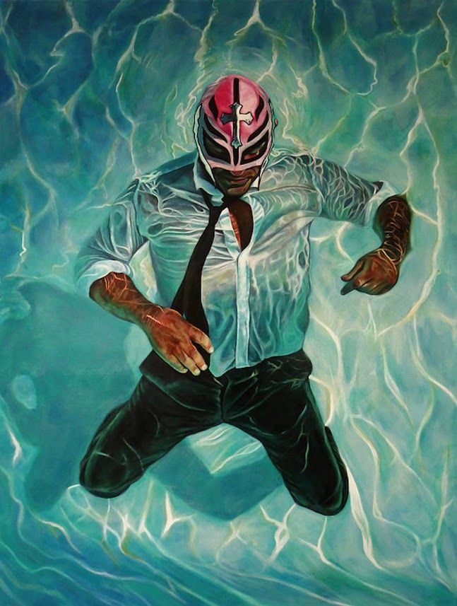 Masked People Alternative Paintings in 2020 | Lucha libre ...