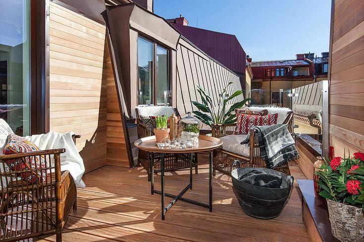 A terrace in the city - Swedish loft #4