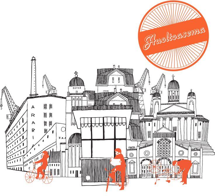 Tour de Lippakioski //  Tour de Lippakioski oli kantakaupungissa järjestettävä pyöräilyviikon 2012 tempaus. Arabiasta Kaapelitehtaalle kulkevan pyöräreitin varrelta oli mm. katutaidetta, fillarihuoltoa, pyöräkirppiksiä, dj- ja live-musiikkia sekä cycle-in elokuvateatteri.    // Suunnittelijat J. Dallas, J. Eloranta, U. Itäpelto, E. Kandelberg, S. Kihlström, A. Kyröläinen, M. Lehtonen, K. Nisonen, H. Paulamäki, T. Piiroinen, P. Puumala, L. Tamminen, M. Vermilä ja A. Wallenius