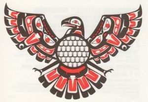 Awesome Native American Thunder Bird:
