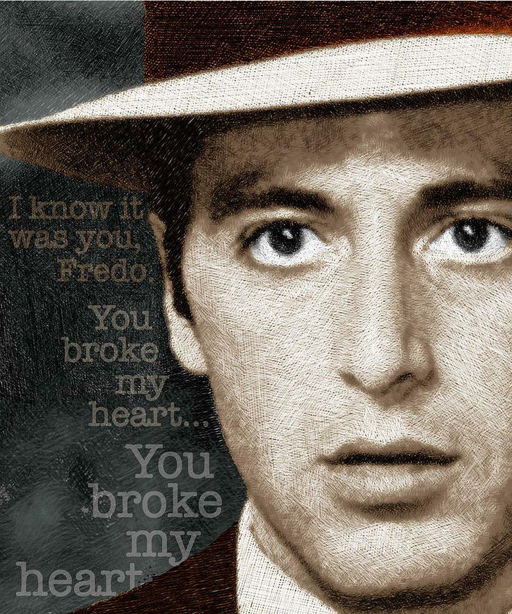 Michael Corleone Quotes To Fredo Michael Corleone Quote...