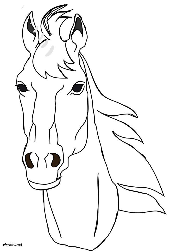 Les 25 meilleures id es de la cat gorie dessins de chevaux - Dessiner titi ...