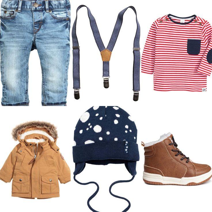 Baby boy winter outfit idea. H&M autumn 2016
