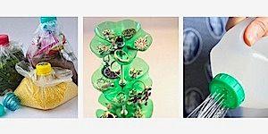 Jangan buang botol-botol plastik bekas! Berikut adalah 5 cara kreatif tentang bagaimana memakai ulang botol-botol tersebut. Dikompilasi oleh Bobo Chang.