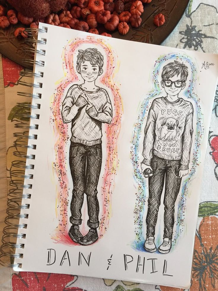 DAN AND PHIL by princesszoggles pinning is welcome but please keep credit :)
