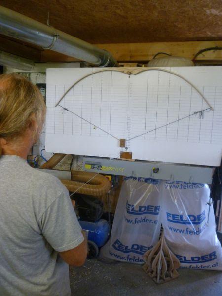 Bogen selber bauen - Bogenbau Pasternack
