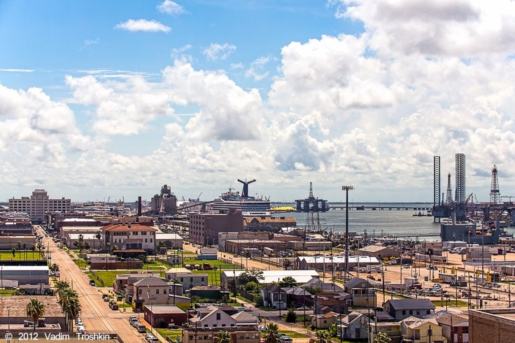 Galveston Island is famous for cruising, with cruises ...