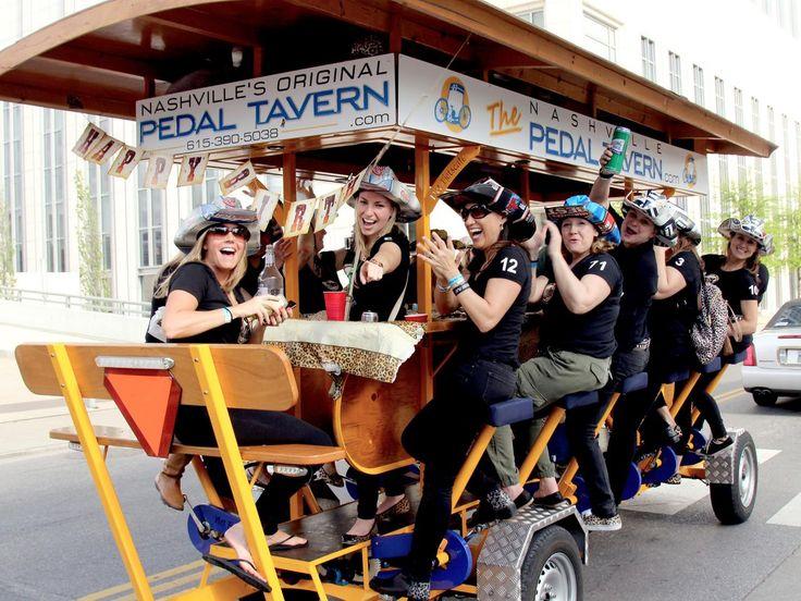 Nashville Pedal Tavern : Nashville's Top Landmarks : TravelChannel.com