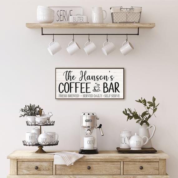 Pin On Coffee Bar