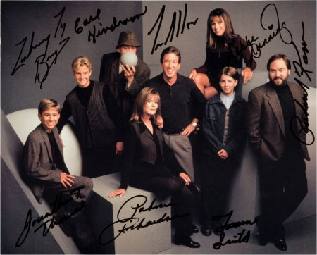 Cast of Home Improvement: Autographed Photo For Doodle for  Hunger.