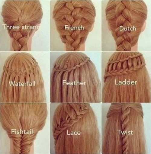DIY 25 Easy Hairstyles with Braid Tutorial / UsefulDIY.com