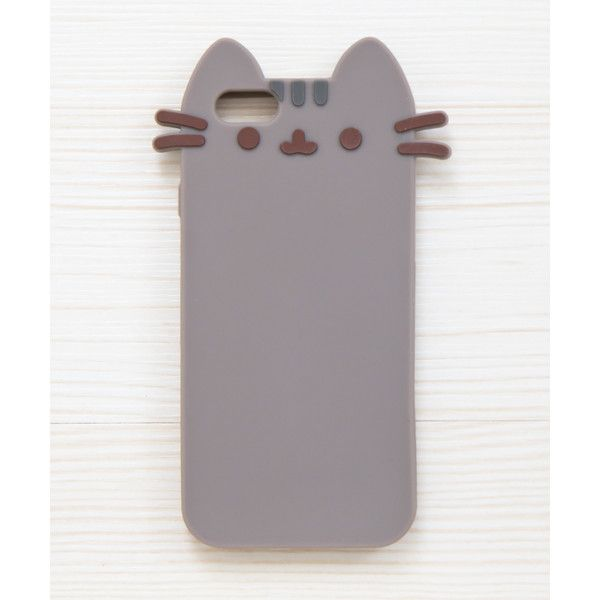 Pusheen the Cat iPhone 6/6S phone case (52 MYR) ❤ liked on Polyvore featuring accessories and tech accessories