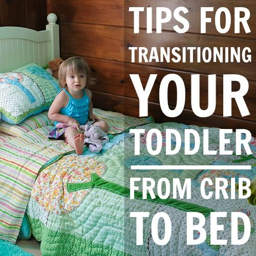 Daily Mom » Tips for Transitioning Your Toddler From Crib to Bed