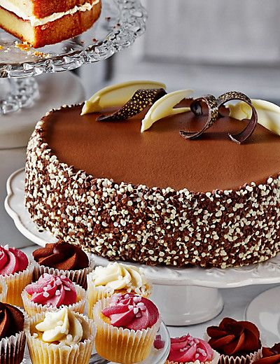 Extremely Chocolatey Party Cake | M&S